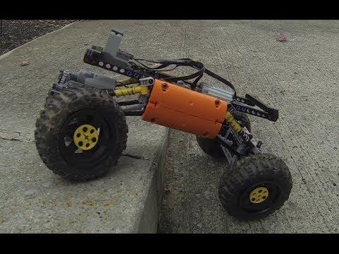 Lego Universal 4-Link Rock Crawler Chassis