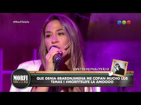 Jimena Barón canta