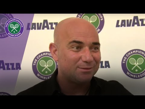 Wimbledon 2017  Andre Agassi discusses Novak Djokovic and more
