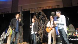 VegasCon 2014 - Misha talking about Rob's stroke