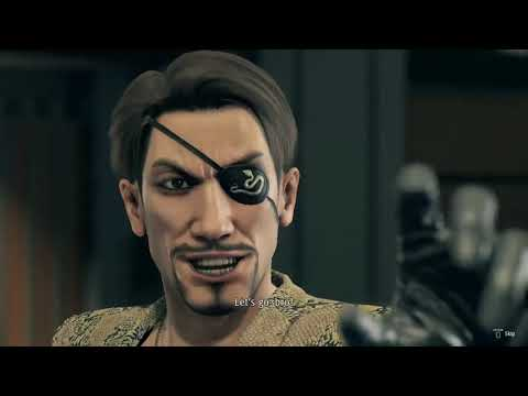 Yakuza 7 Like A Dragon -Ichiban party vs Majima/Saejima -No Damage(Except scripted/auto damage)Hard.  