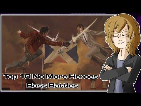 Top 10 No More Heroes Boss Battles