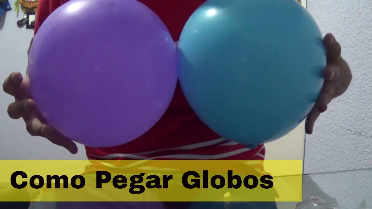 Como Pegar Adesivo De Deficiente ~ mejores opciones de como pegar globos YouTube