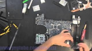 DELL LATITUDE E6400 take apart video, disassemble, how to open disassembly