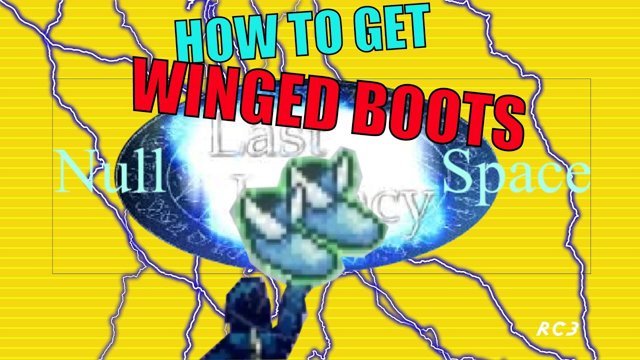 last legacy ch2 null space obtaining winged boots youtube