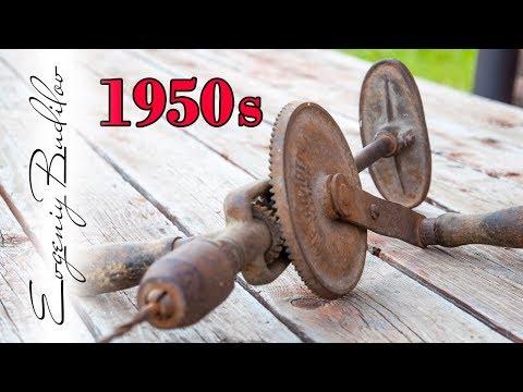 Apa yang saya lakukan dengan bor 1950!