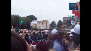 Noi qui Ora (Arrivo Papa Francesco)