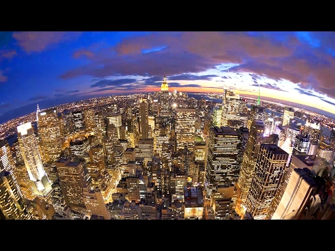 New York City Time Lapse Videos, Best of Manhattan Day to Night Timelapse Clips