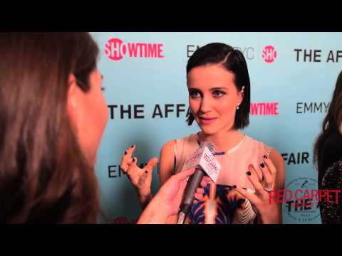 Julia Goldani Telles at time's 'The Affair' Emmy's FYC Screening and Panel TheAffair