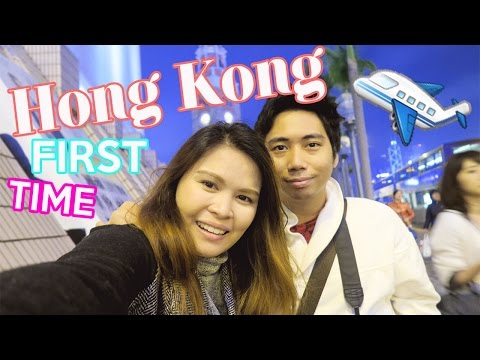 [VLOG] First Day in Hong kong + hotel room tour | Abbybaby