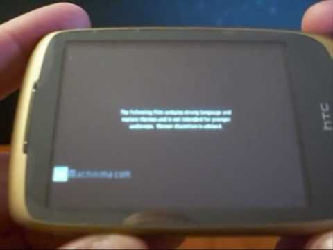 Video Review HTC Touch 3G in italiano