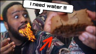 WORLD'S HOTTEST BROWNIES PRANK ON HUSBAND *HILARIOUS*