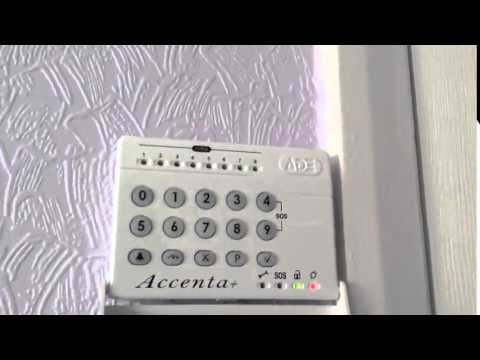 Burglar Alarm Ade Accenta Features