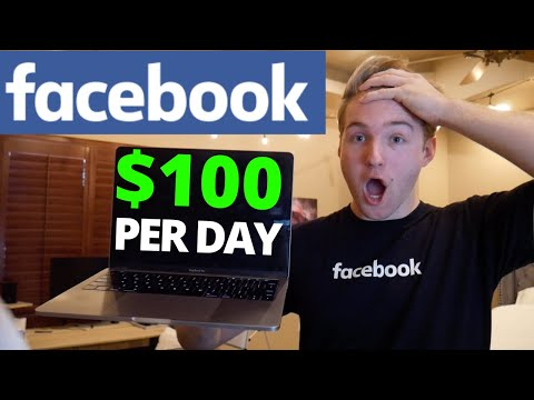 Fastest Way To Make $100/Day With Facebook Ads | Step-By-Step Beginner Breakdown DAY 1