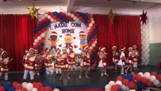 Apresentação de Natal Infantil III - Colégio Santíssimo Sacramento 2014