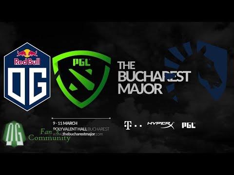 OG vs Liquid -  Game 1 - The Bucharest Major - Group Stage