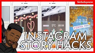 5 Instagram Story Hacks in Under 2 Minutes | Deleting soon...