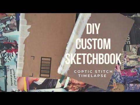 DIY | Kettle Stitch Watercolor Sketchbook
