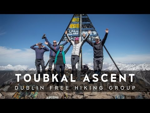 Toubkal Ascent 4167m - Dublin Free Hiking Group