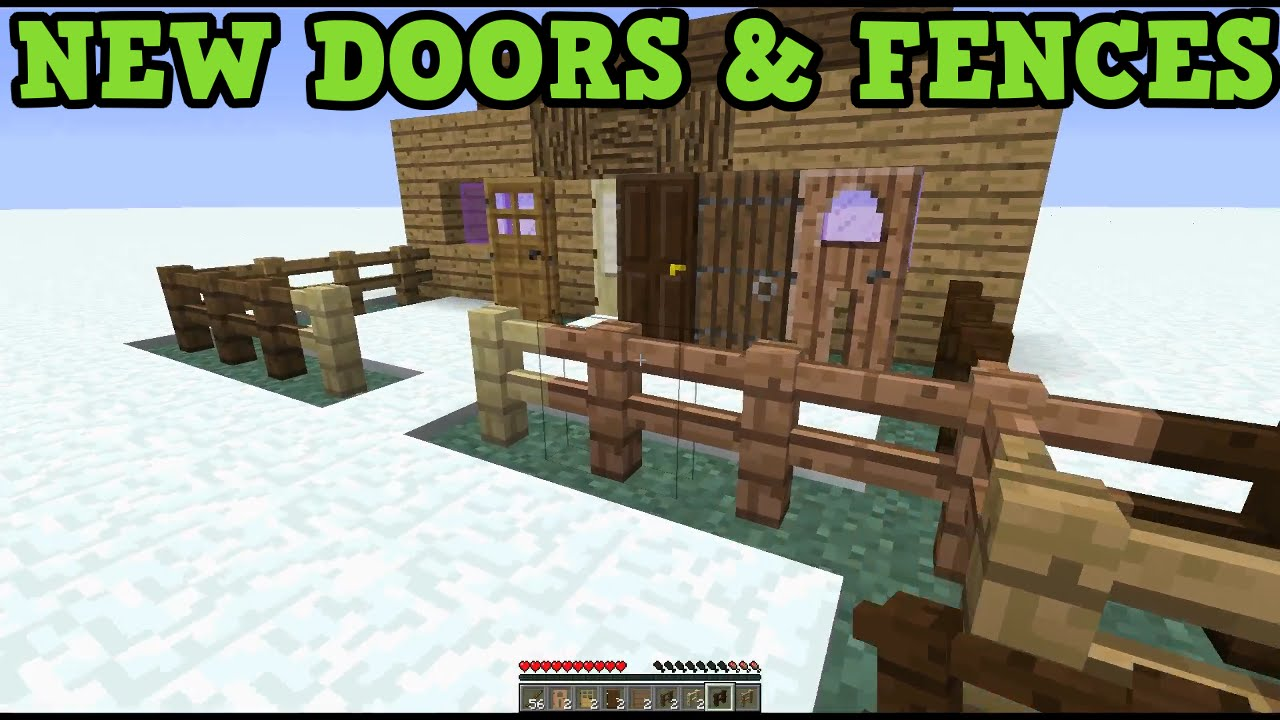 how to make a fence in minecraft xbox one