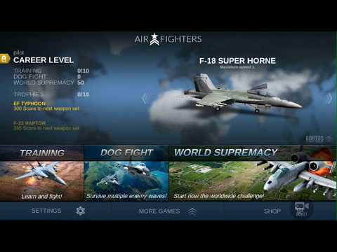 Air Fighters Games | Jet Engine battle | Android Game Air Battle | FCF Games Channel