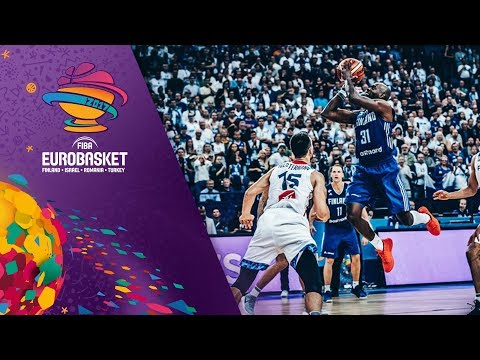 Top 5 Plays from Day 1 of the FIBA EuroBasket 2017 (VIDEO)
