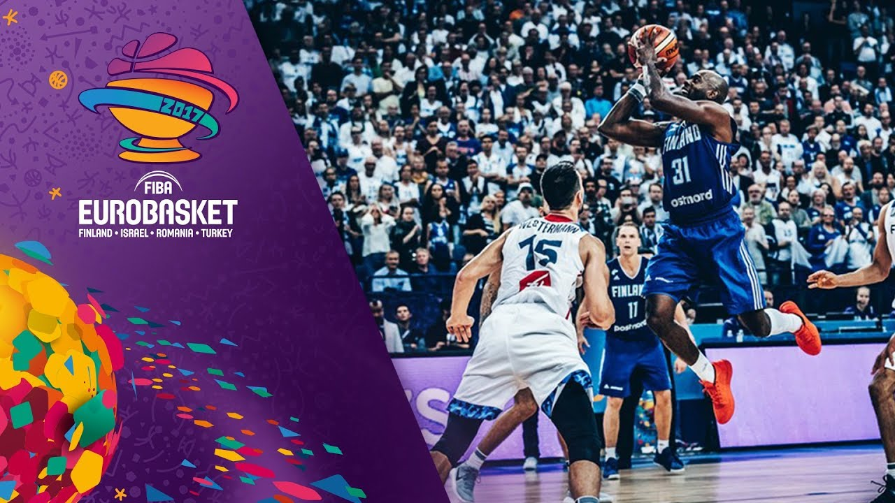 Top 5 Plays - Day 1 - FIBA EuroBasket 2017
