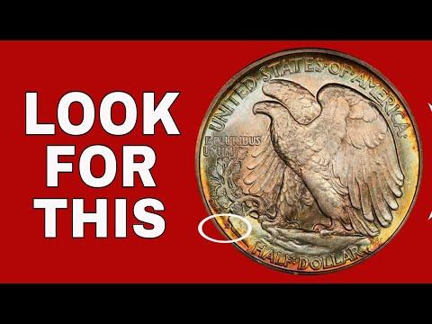 Walking Liberty Half Dollars Worth Money!