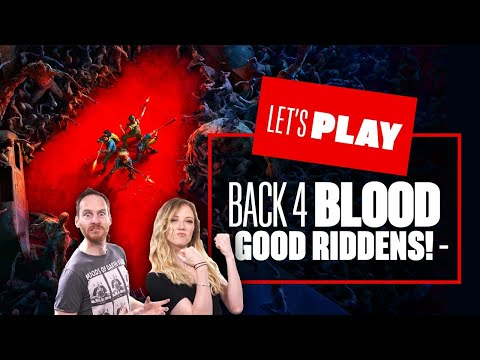 Let's Play Back 4 Blood PS5 Co-op Gameplay - GOOD RIDDENS! Back 4 Blood PS5 Gameplay