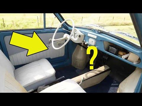 Как автомобиль из 50х, мог ехать задним ходом 100 км/ч?
