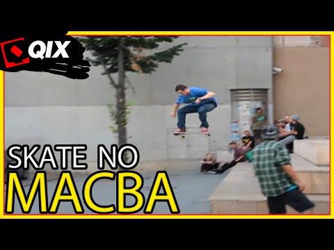 Skate no MACBA - Barcelona