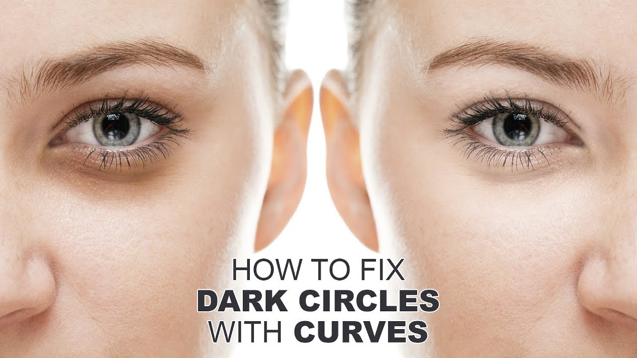 How to Fix Dark Circles with Curves in Photoshop - Quickly ...