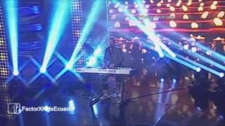 Noel Schajris - Cuando Amas A Alguien/Momentos | (Programa 16) Final Factor X Kids Ecuador 2015