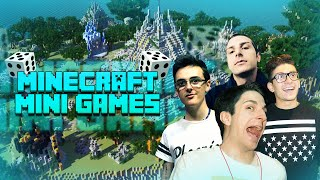 Minecraft | RAP ESTREMO E ULTRA MINIGAMES! w/Stepny, Surreal & Vegas