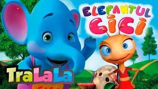 Elefantul Cici - Cântece pentru copii | TraLaLa