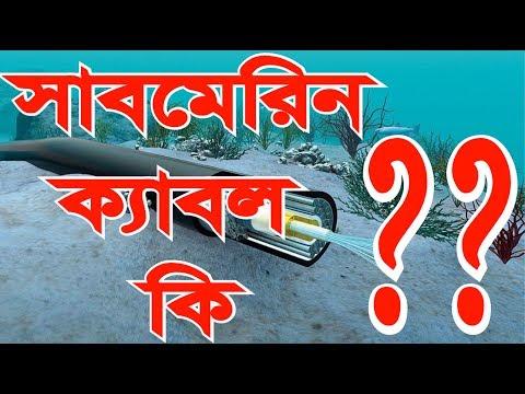 What is The Submarine Cable??  সাবমেরিন ক্যাবল কি | Bangla