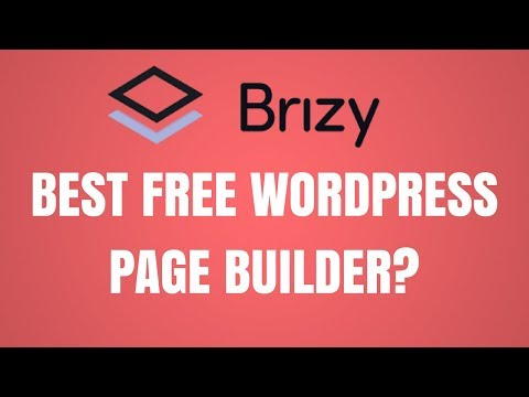 Brizy – Best Free WordPress Page Builder?
