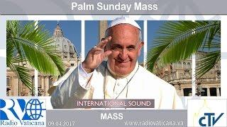 2017.04.09 Palm Sunday celebration
