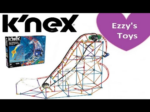 Knex All American Roller Coaster Review Youtube