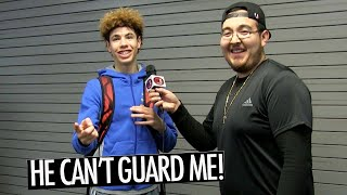 """LaMelo Ball WILD INTERVIEW """" No-one Can GUARD ME """"! + FULL CHINO HILLS GAME"""