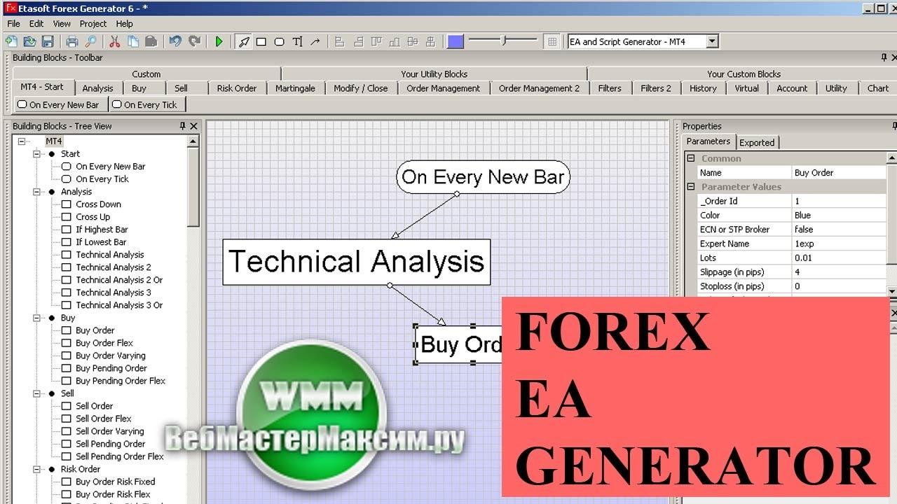 Видео forex ea generator 4 с.чувашов форекс мастер-класс