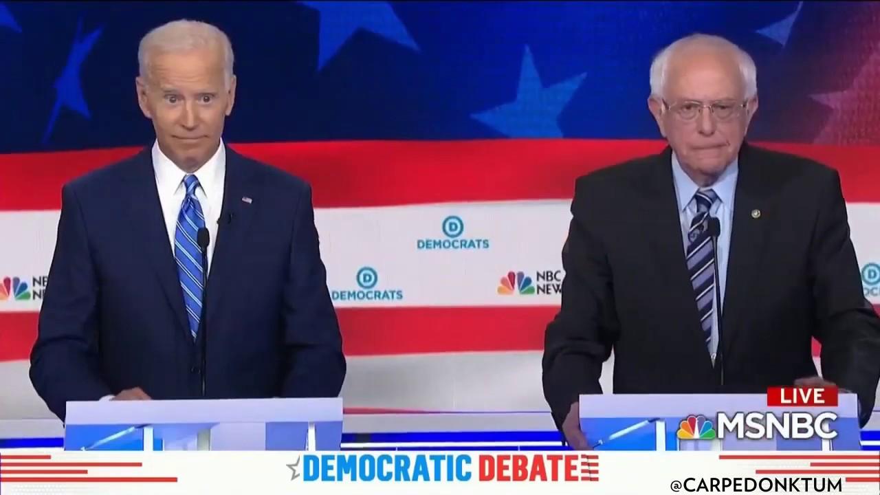 Carpe Donktum Jumpy Biden and Aggressive Bernie