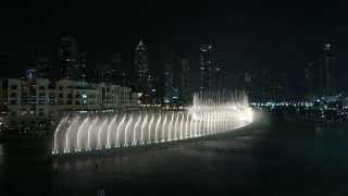 The Dubai Fountain: Baba Yetu (2014)