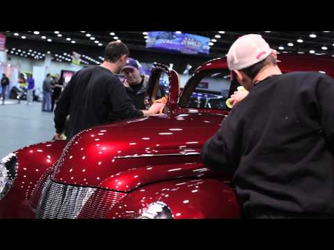 1940 Ford Checkered Past Wins 2013 Ridler Award at Detroit AutoRama