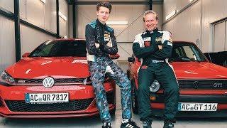 Alt gegen Neu: Auto Challenge gegen Niki Schelle