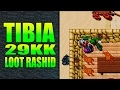 TIBIA 💰 LOOT RASHID 29KK 💰