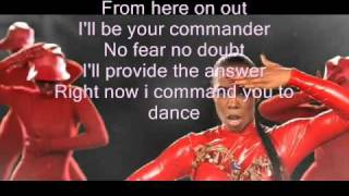 Kelly Rowland ft. David Guetta- Commander lyrics