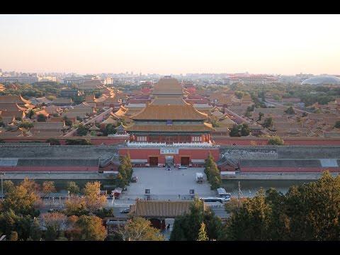 Sunset Over the Forbidden City (Jingshan Park) / 日落 (景山 / 紫禁城)