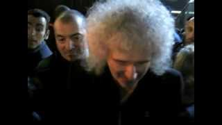 "Brian May in Sanremo (with Brian saying ""great to see you"" to me at 4.00!) - by Marco Fioroni"