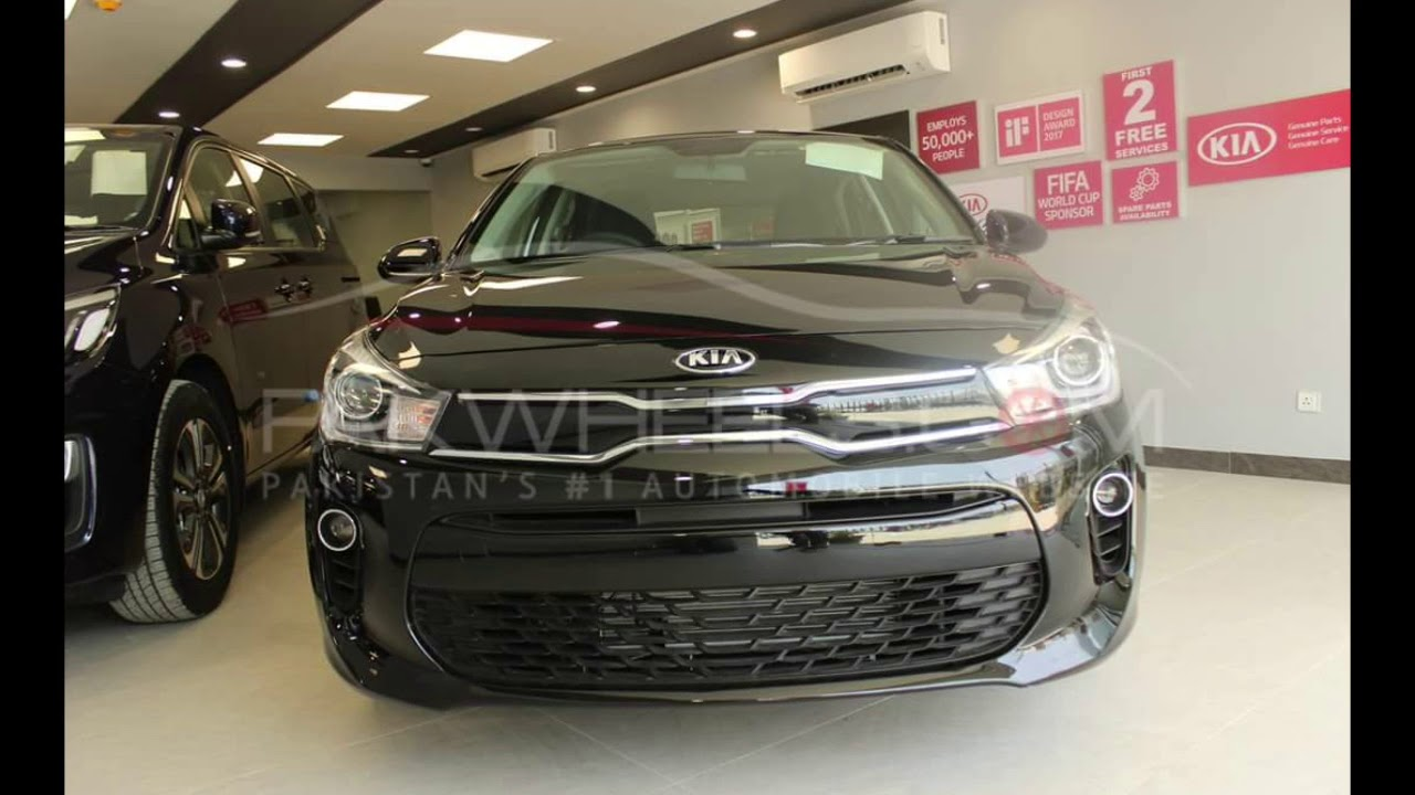 2018 Kia Rio Complete Over View And Price In Pakistan Youtube